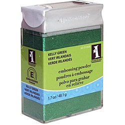 Inkadinkado 1.1-oz Kelly Green Embossing Powder