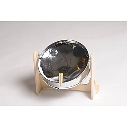 Steel Mini Chromed Pan Drum (Trinidad and Tobago)