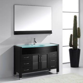 Virtu USA Ava 48-inch Single Sink Bathroom Vanity Set