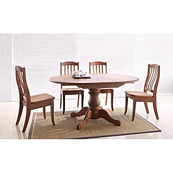 Sara Natural Matte 5-piece Dining Set