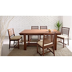 Katelyn Natural Matte 7-piece Dining Set