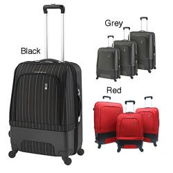 Travel Concepts Chicago 3-piece Hybrid Spinner Luggage Set