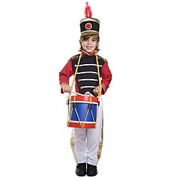 Dress Up America Boy's 3-piece Drum Major Costume