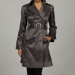 Jessica Simpson Women's Belted Trench Coat