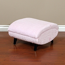 Christopher Knight Home Soft Fabric Kids Storage Ottoman