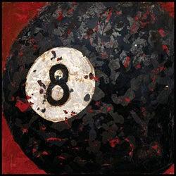 Aaron Christensen '8 Ball' Gallery-wrapped Canvas Art