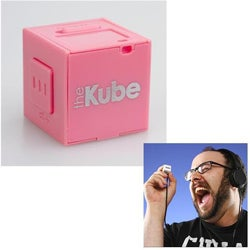 The Kube TK-103 Pink MP3 Player/ 2GB MicroSD Card