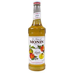 Monin 750-ml Regular Apple Syrup (Pack of 12)