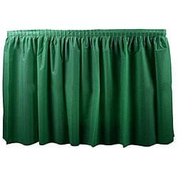Duni Dark Green 14-ft Tableskirt