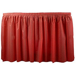 Duni Red 14-ft Tableskirt