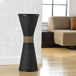 Ubud Rice Husk Decorative Vase (Indonesia)