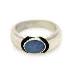 Sterling Silver 'Dreams' Opal Ring (Indonesia)