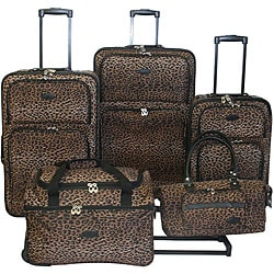 American Flyer Serengeti 5-piece Luggage Set