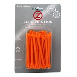 Zero Friction Orange 2.75-inch Performance Golf Tees (Pack of 300)