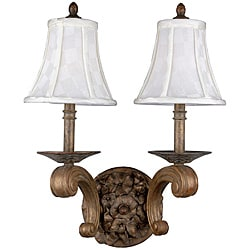 Maxfield Autumn Patina 2-light Wall Sconce