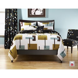 Reconstruction 6-pc California King-size Duvet Cover and Insert Set
