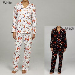 Leisureland Women's Japanese Print Pajamas Set