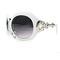 Women's 2905 White Round Sunglasses