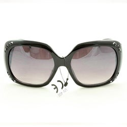 Women&#39;s P10048 Black Oversized Sunglasses