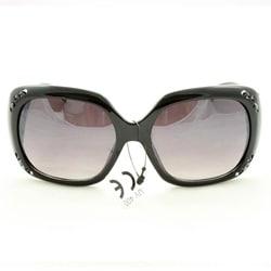 Women's P10048 Black Oversized Sunglasses