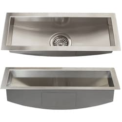 Ticor Royal Stainless Steel 16 Gauge 22 Inch Trough
