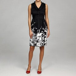 Spense Women's Ruffle Neck Dress