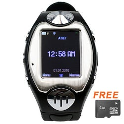 SVP MW09 Unlocked GSM Watch Phone with Micro 4GB Card