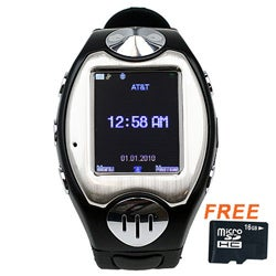 SVP MW09 Unlocked with Micro 16GB Card GSM Watch Phone