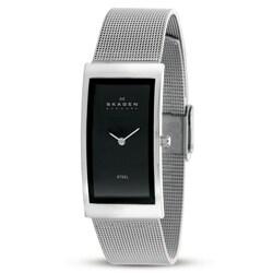 Skagen 359USSB Women's Black Dial Stainless Steel Watch