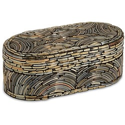 Regent Sequoia Oblong Decorative Box