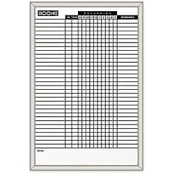 Quartet 24 x 36 Magnetic In/ Out Dry Erase Board