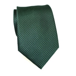 H. Luzzario & Co Men's Silk Green Weave Tie