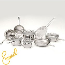 Emeril Pro-Clad Stainless Steel 12-piece Cookware Set