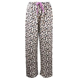 Leisureland Women's Leopard Lounge Pants