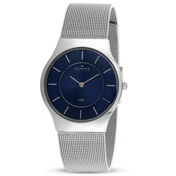Skagen Men's Grey Stainless Steel Watch