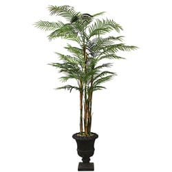 Laura Ashley Realistic 8-ft Artificial Areca Palm Tree