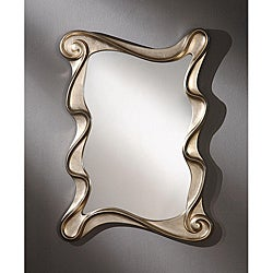 Rectangular 35-inch Light gold Premium Mirror