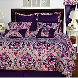 Empire 12-piece Cotton Bed in a Bag with Sheet Set