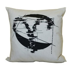 Jiti Aries Zodiac Sign Cotton Decorative Down Pillow