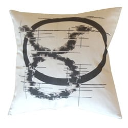 Taurus Zodiac Sign Cotton Decorative Pillow