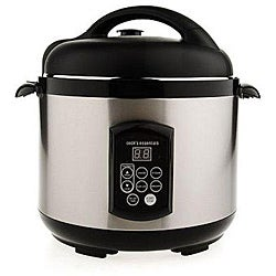 Cook's Essentials K22742 5.3-qt Nonstick Stainless Steel Pressure Cooker (Refurbished)