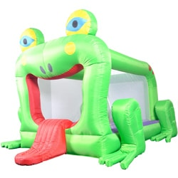 Waliki Frog Inflatable Bounce House
