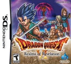 NinDS - Dragon Quest VI Realms of Revelation - By Nintendo