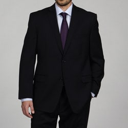 Joseph Abboud Men's Black Wool Suit