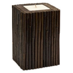 Rattan Borneo Small Candle
