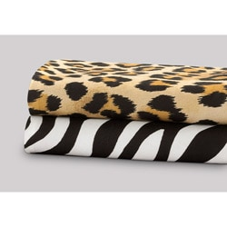 Premier Comfort Softspun Twin/ Twin XL-size All-season Animal Sheet Set