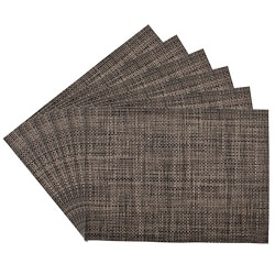 Longport Woven Vinyl Placemats (Set of 6)