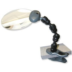 Attach-A-Mag Flexible Lighted Magnifier