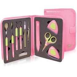 CGull Pink Leatherette Tool Kit