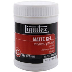 Liquitex Matte 8-oz Gel Medium